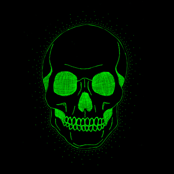 Green Iphone Wallpaper Green Skull By Darquebasylisk On Newgrounds