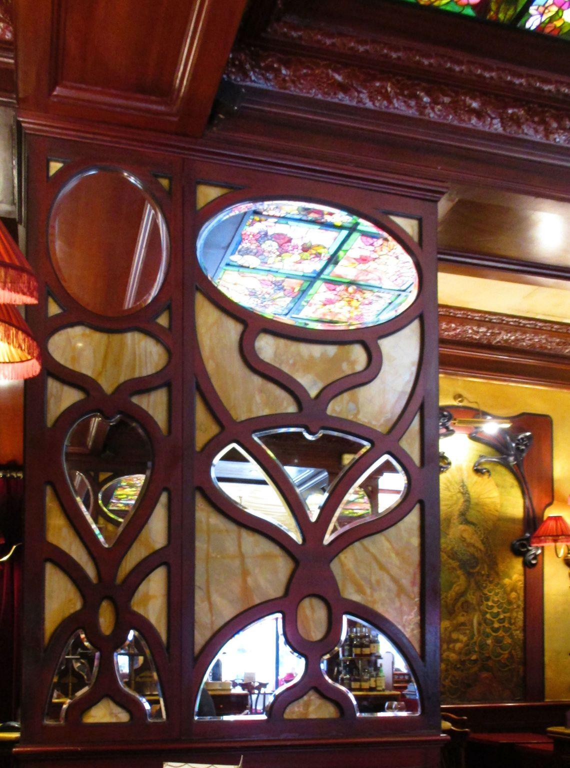 Café Des Capucines Paris Grand Café Capucines Art Nouveau World