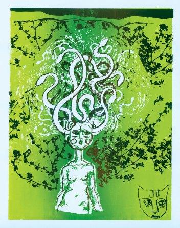 Print: Medusa by Woodie Anderson