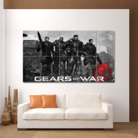 Gears of War Video Gamese Block Giant Wall Art Poster