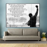 Rocky Balboa Inspirational Motivational Film Movie Quotes