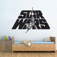 Star Wars Logo Vinyl Wall Decal