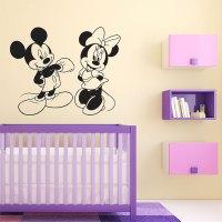 Minnie Mouse Wall Sticker - [peenmedia.com]