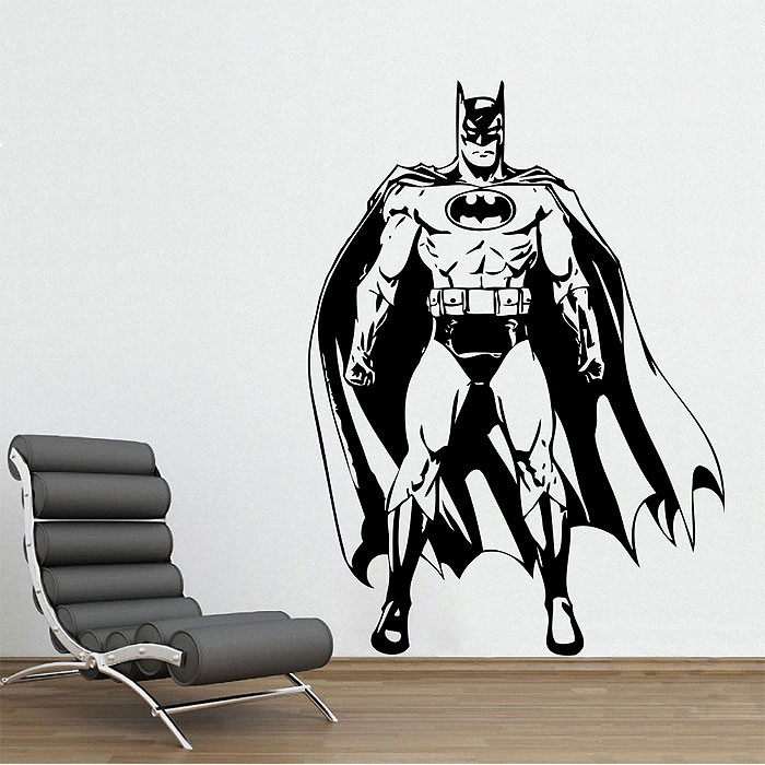 Batman Awesome Vinyl Wall Art Decal