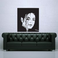 Michael Jackson Wall Stickers - [peenmedia.com]