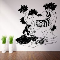 Alice in Wonderland Vinyl Wall Art Decal