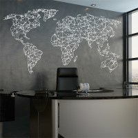 World Map Wall Stickers - [peenmedia.com]