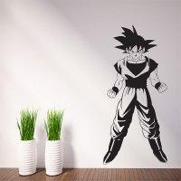 Dragon Ball Z Goku Vinyl Wall Art Decal