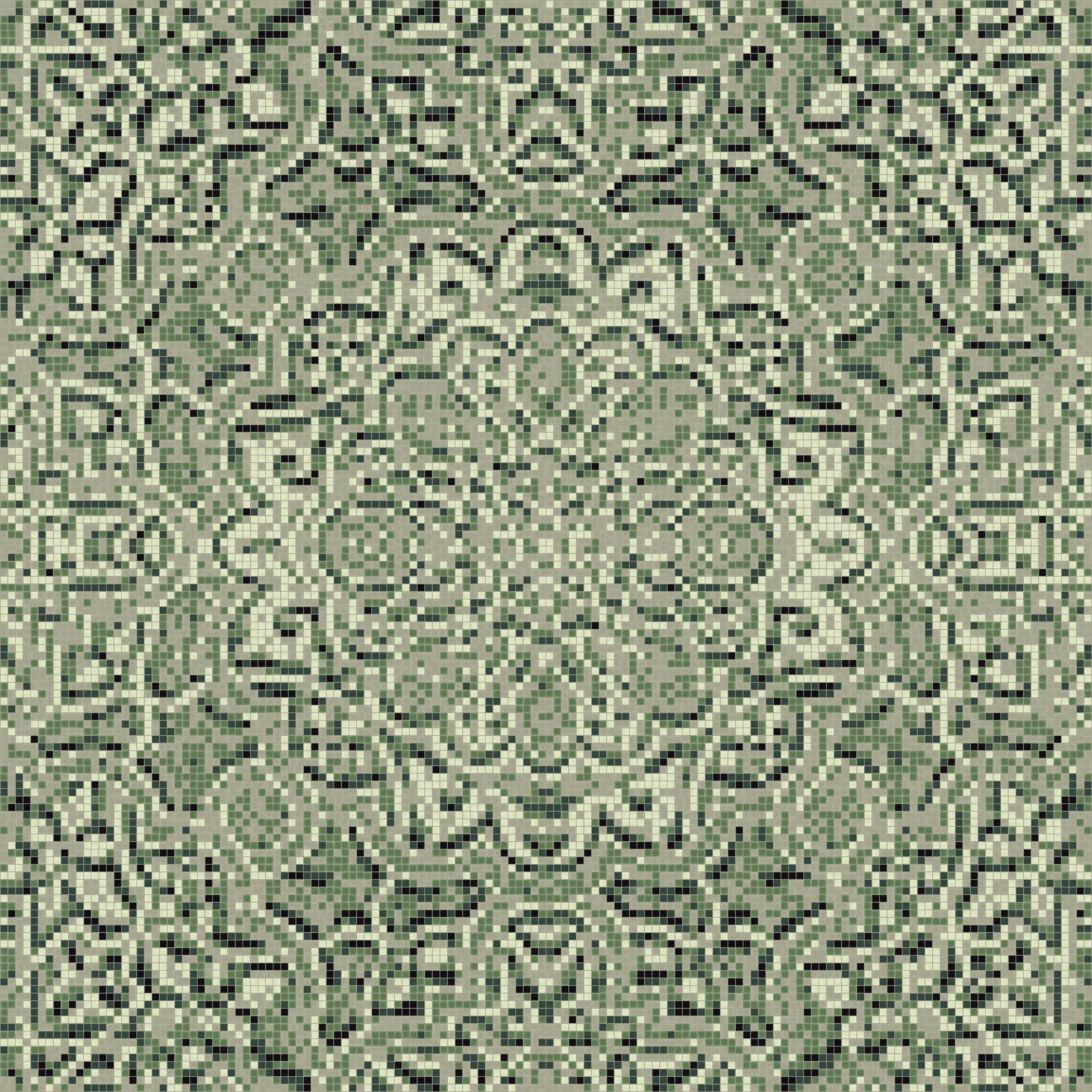 Motif Relief Green Flowing Vines Tile Pattern Relief Garden By Artaic