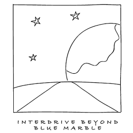 Interdrive beyond blue marble