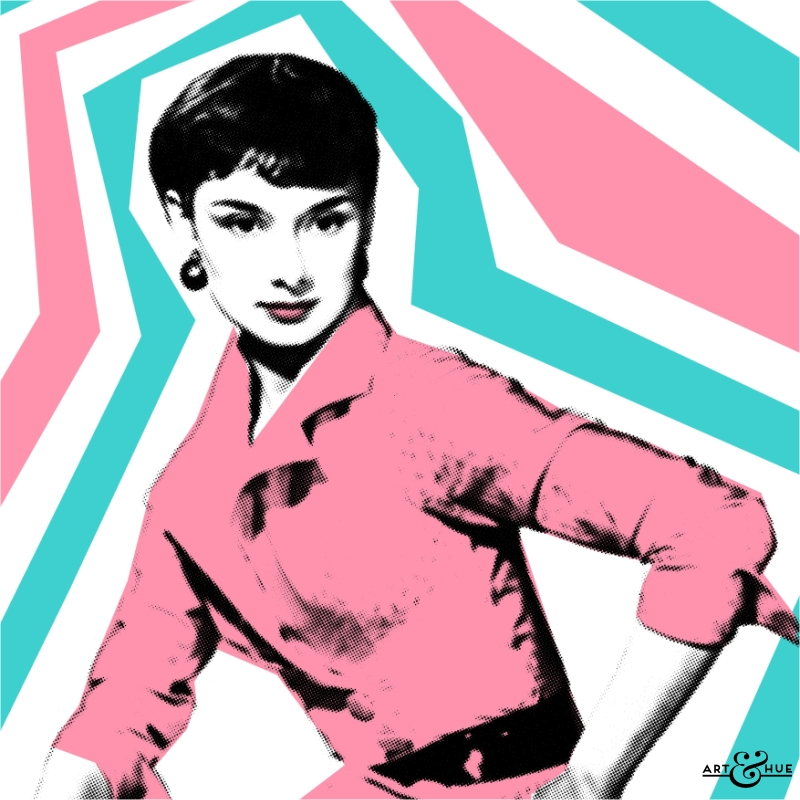 Girl Studying Wallpaper Style Icon Audrey