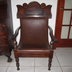 18th Century British Colonial Planters Chair for Lady from Jamaica, West Indies