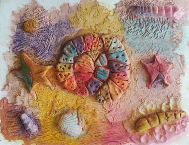 Rainbow Ammonite Fossil by Kayzel