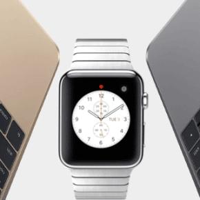 Apple - nouveau Macbook et l'Apple Watch 1