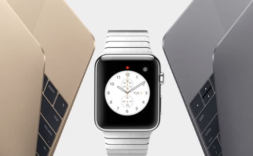 Apple - nouveau Macbook et l'Apple Watch 1