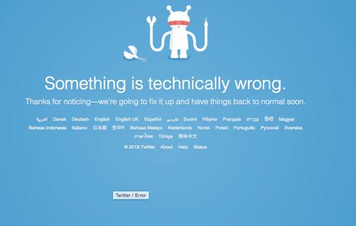 Twitter en panne mondiale pendant 2 heures ! 1