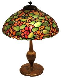 Tiffany Studios Lamp with Grape Motif | Art Blart