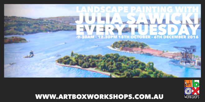 landscape painting art classes for adults at Art Box Workshops