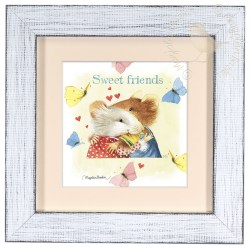 Sturdy Friends X Framed Prints Friends X Framed Prints Frame Friends Frame 5x7 Yellow Friends Frame