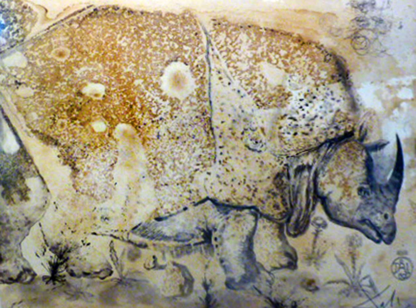 Salvador Dali Rhinoceros Etching Salvador Dali Art For Sale