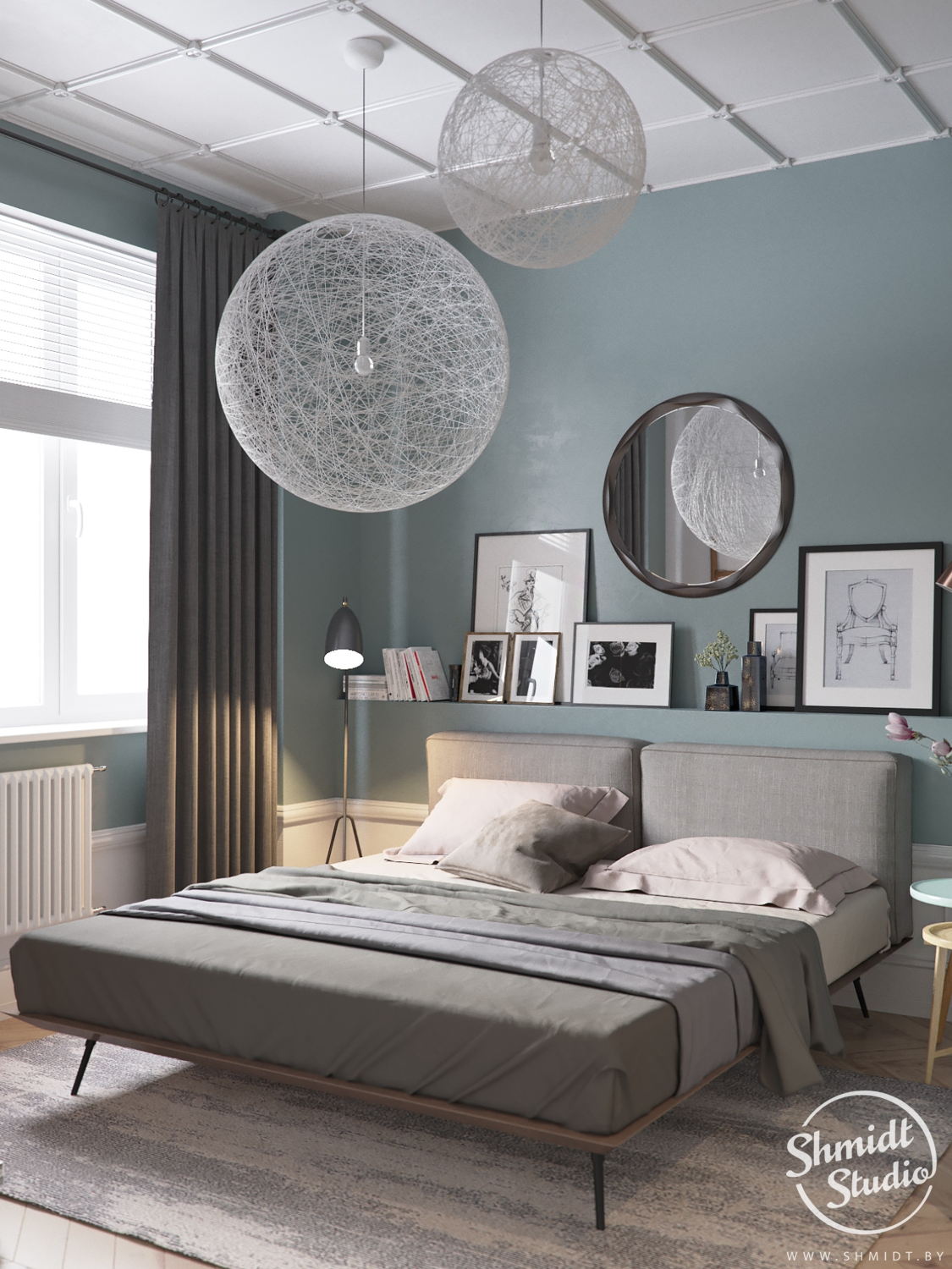 Scandi Style Bedding Scandinavian Style Bed
