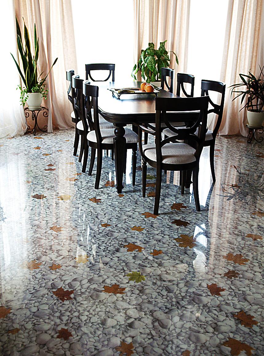 3d Polymer Printed Floors Vorax Stretch Ceilings
