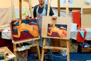 118- Владимир Попов, начинающий художник, предприниматель-финансист, миценат, 3 мес