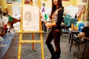 119- Алина Паламарчук, начинающий художник, фото модель, студентка, 3,5 мес