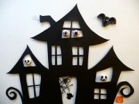 Haunted House Cut Out | ArtClubBlog