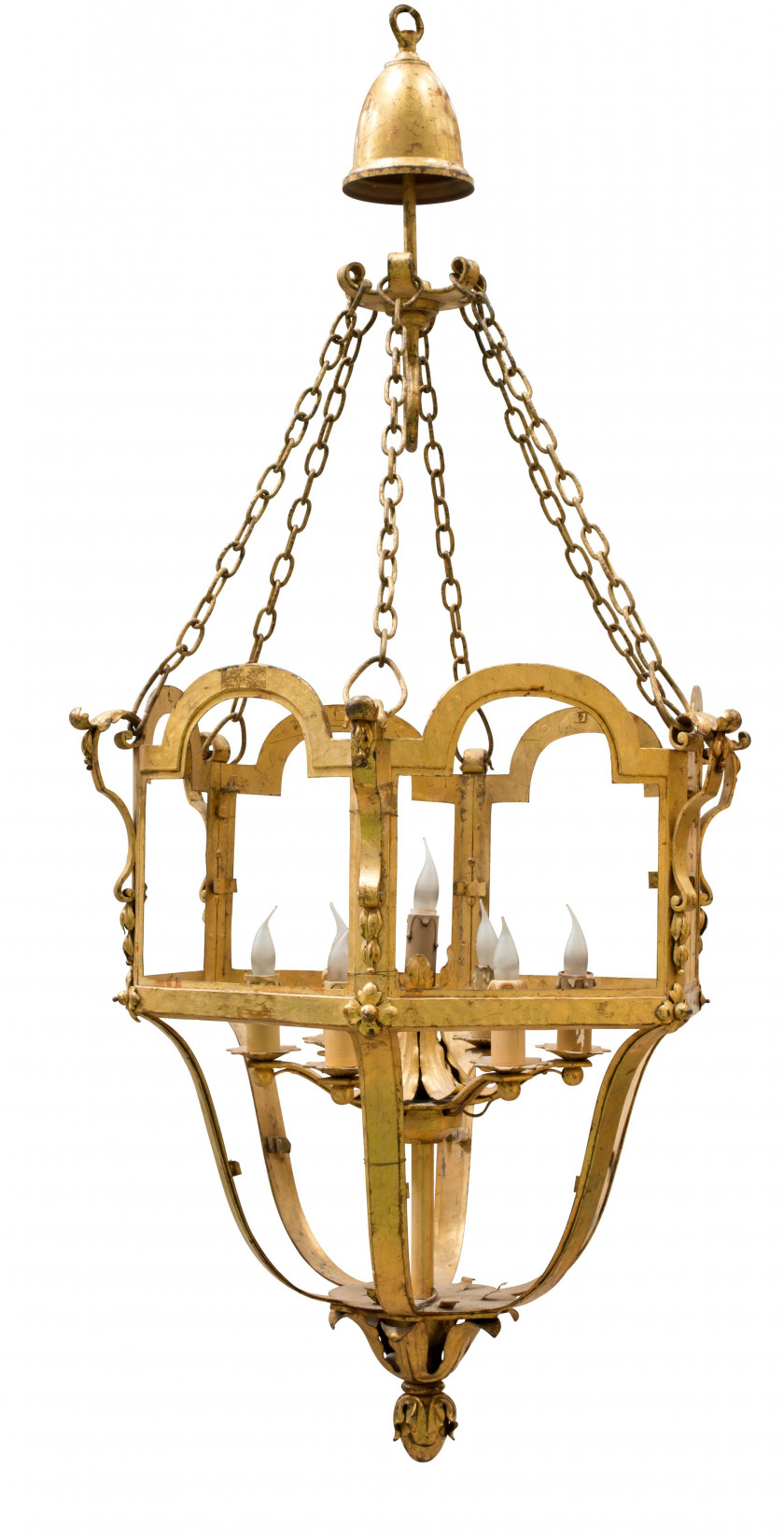 Lustre Cage Ritz Paris 3 Sale N3826 Lot N1415 Artcurial