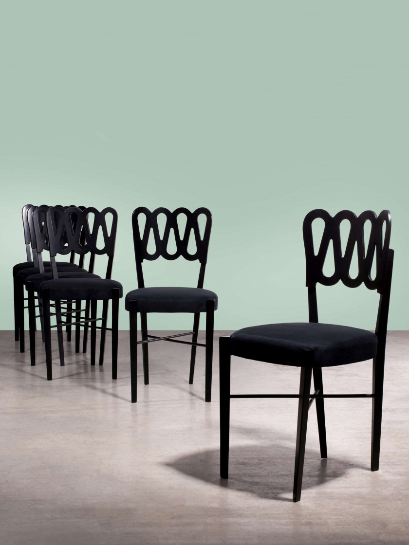 Lot De Chaises Design Italian Design Sale N3928 Lot N34 Artcurial