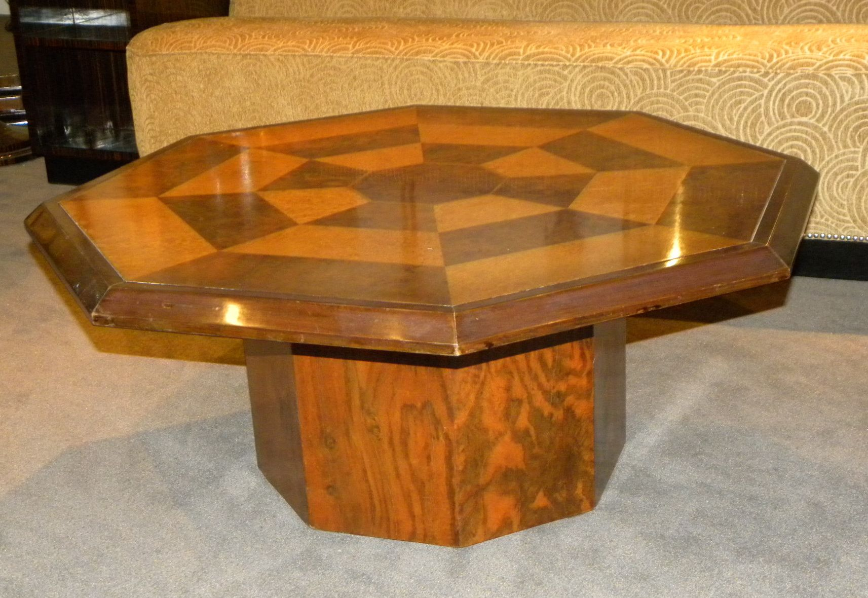 Original Coffee Table Original Two Tone Octagon Coffee Table Small Tables