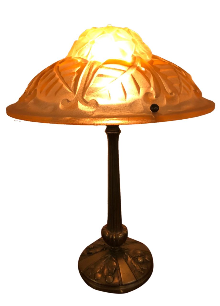 Glass Lamp Art Art Deco Lighting For Sale Table Lamps Art Deco Collection
