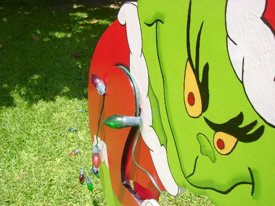 The Grinch In 3d Yard Art Yard Art Custom Made To Order