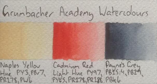 Watercolours Grumbacher Academy Watercolours (review) artdragon86