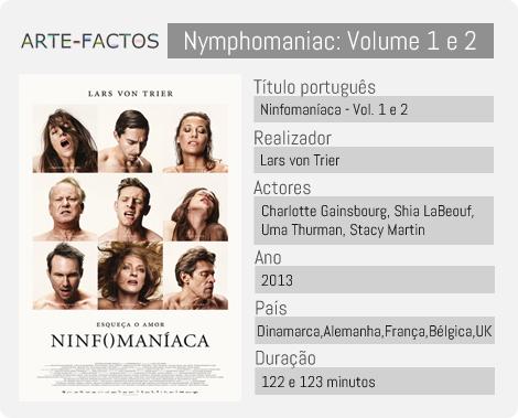 Ninfomaníaca - Vol.1 e Vol.2