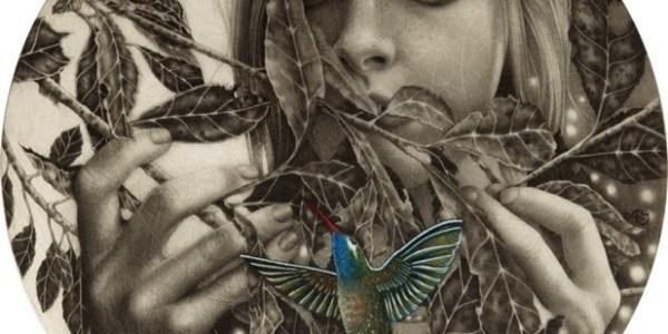 Dibujos carboncillo Alessia Iannetti 1