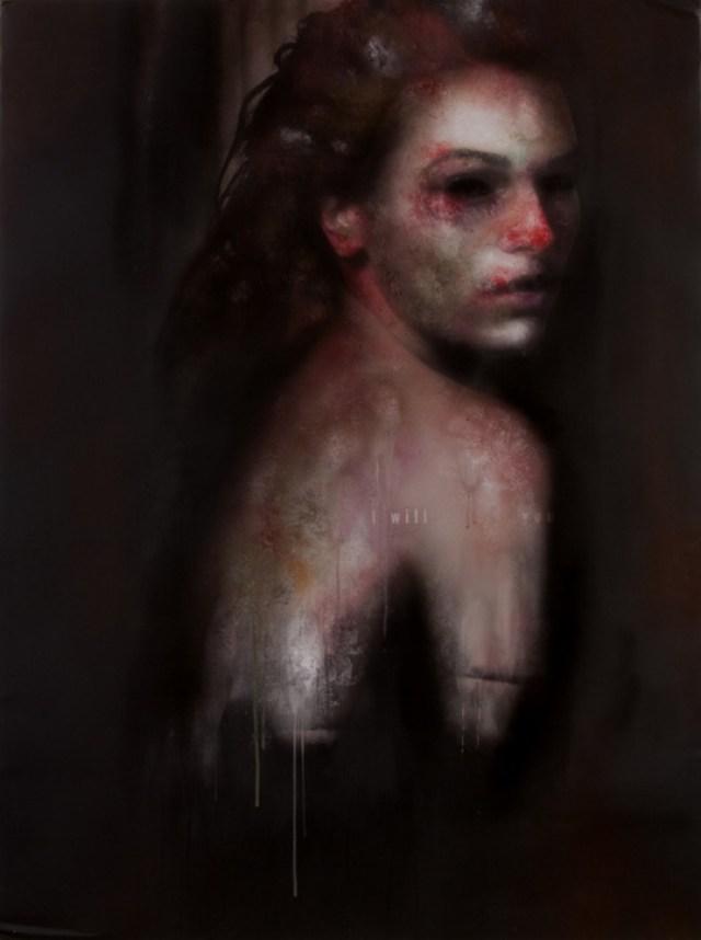 Dolor - Pinturas de Marco Rea 4