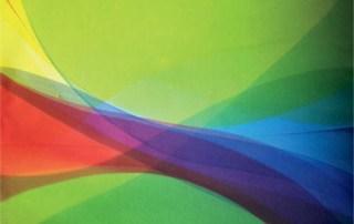 """Color Flows, 2012 Acrylic on canvas 36"""" x 54"""""""