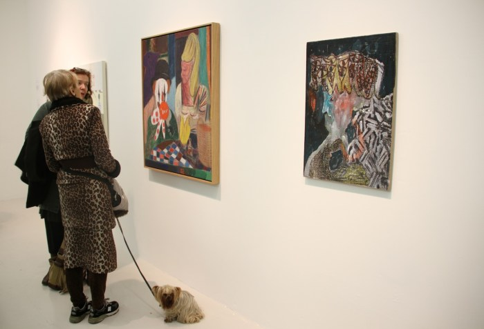 Bring your Four Legged Friend to an Art Opening
