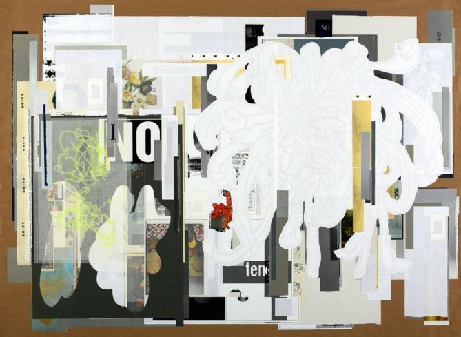 3.) Tm Gratkowski-Apathetic Empathy_2011_paper on paper_44inx60in_$6,500 framed.