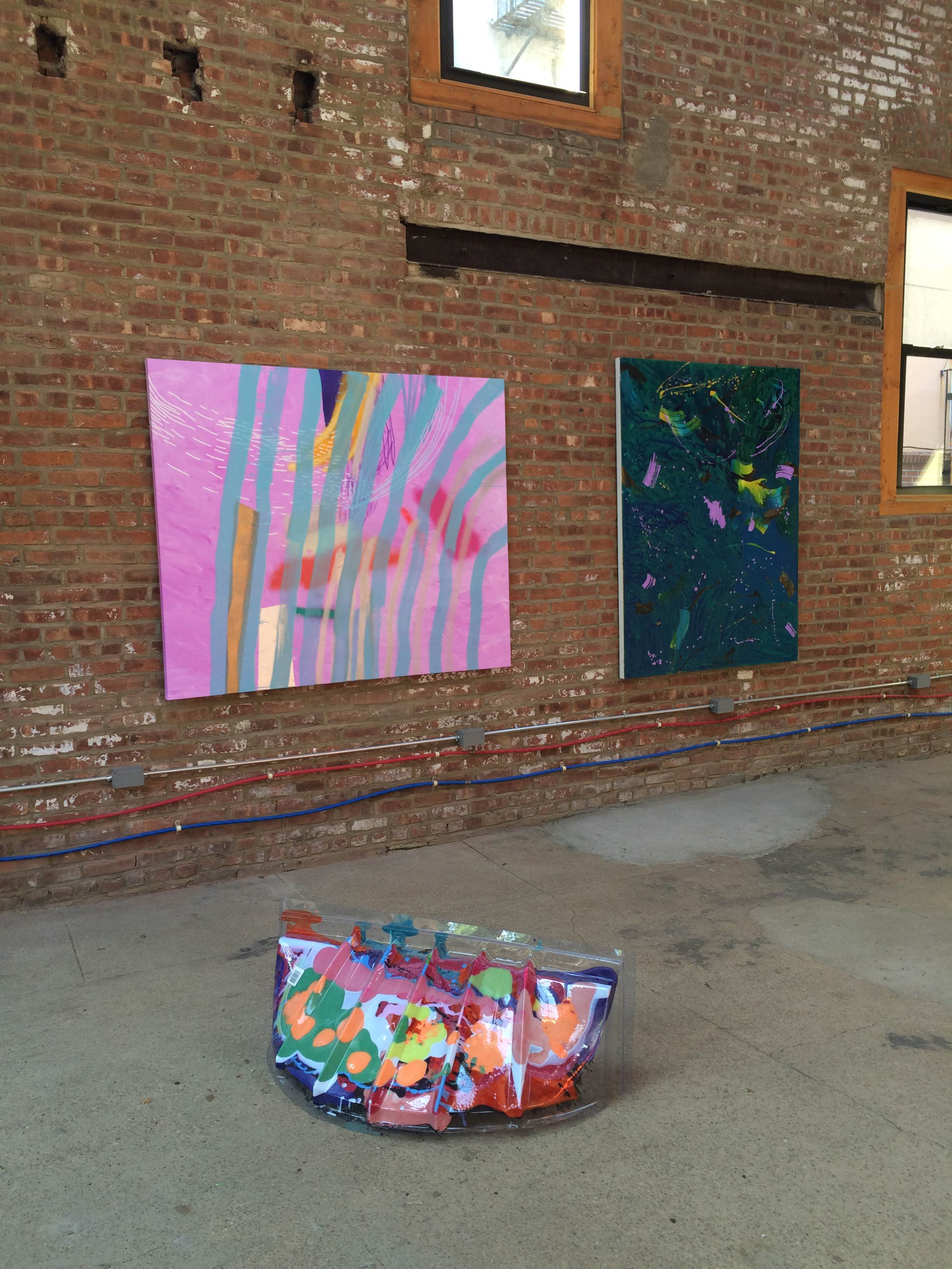 Arte Visual Group De Colores A Group Show At The Buggy Factory For Bos Curated