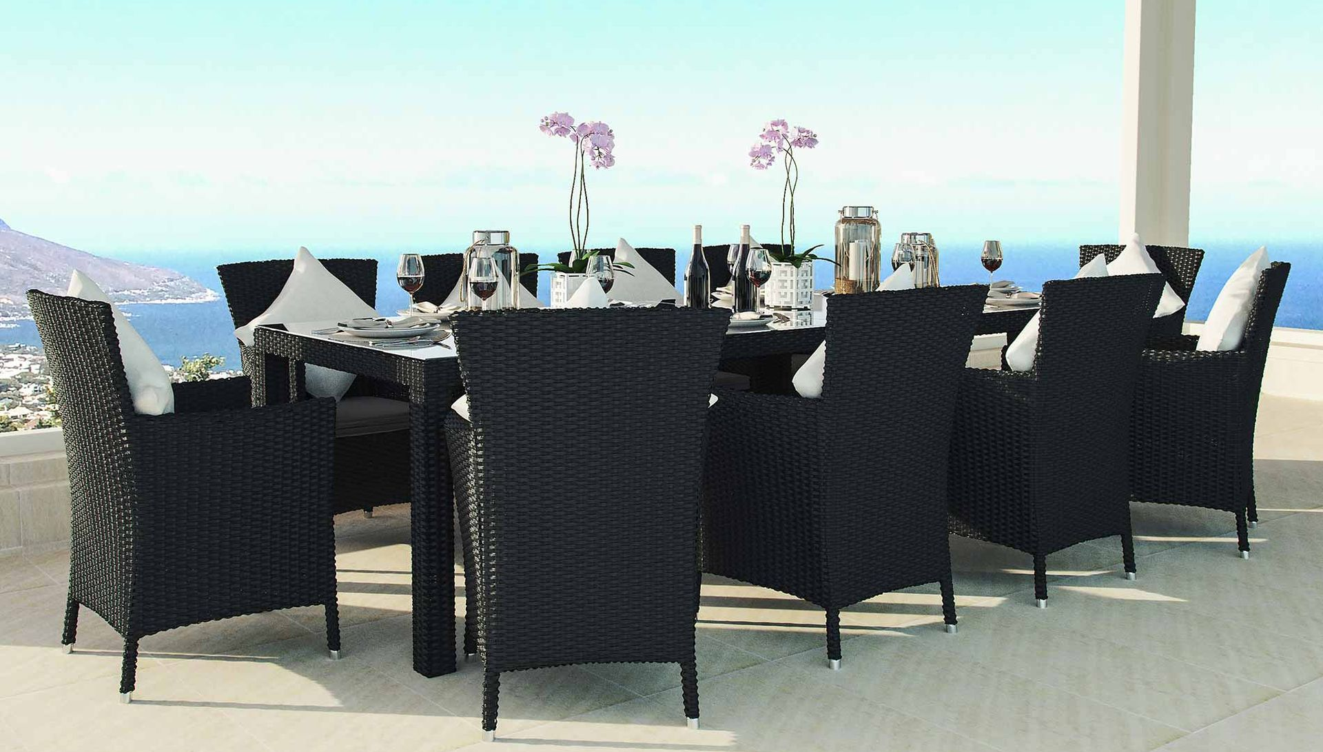 10 Seater Dining Artelia 10 Seater Rattan Dining Set Ceres Xxl