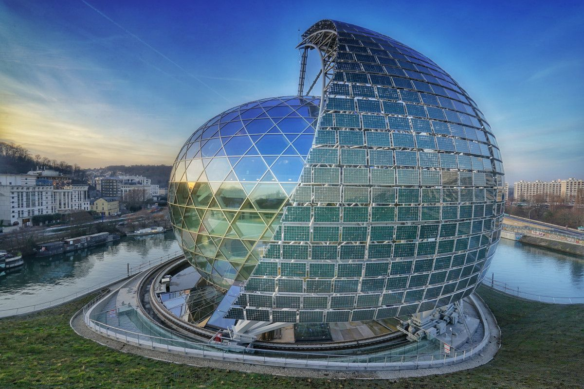 Solution Batiment Structure France Inauguration Of La Seine Musicale Music Venue An