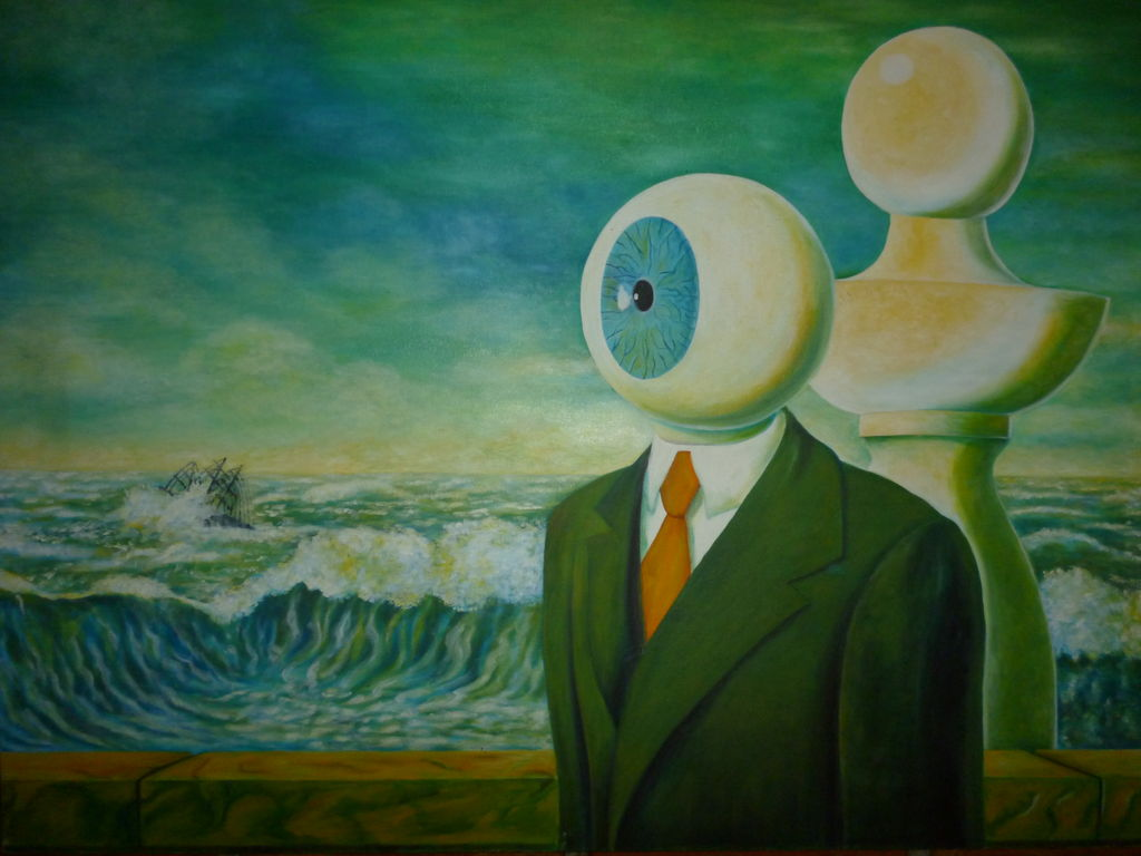 Cuadros Rene Magritte La Travesia Dificil De Rene Magritte Gladys Roxana