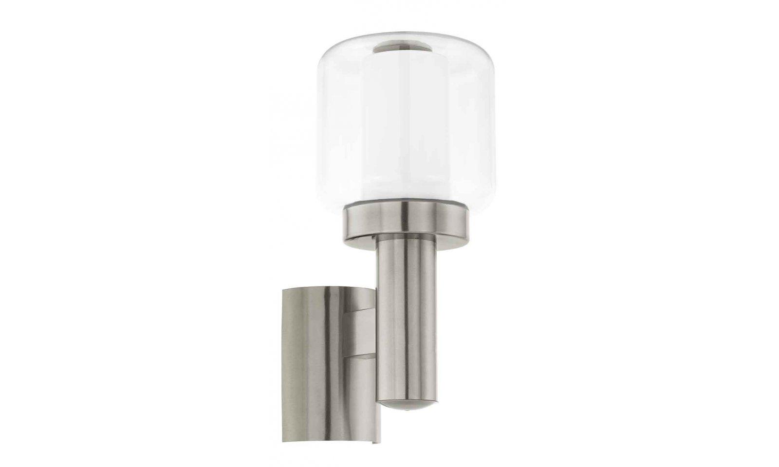 Eglo applique applique exterieur pias acier led eglo applique