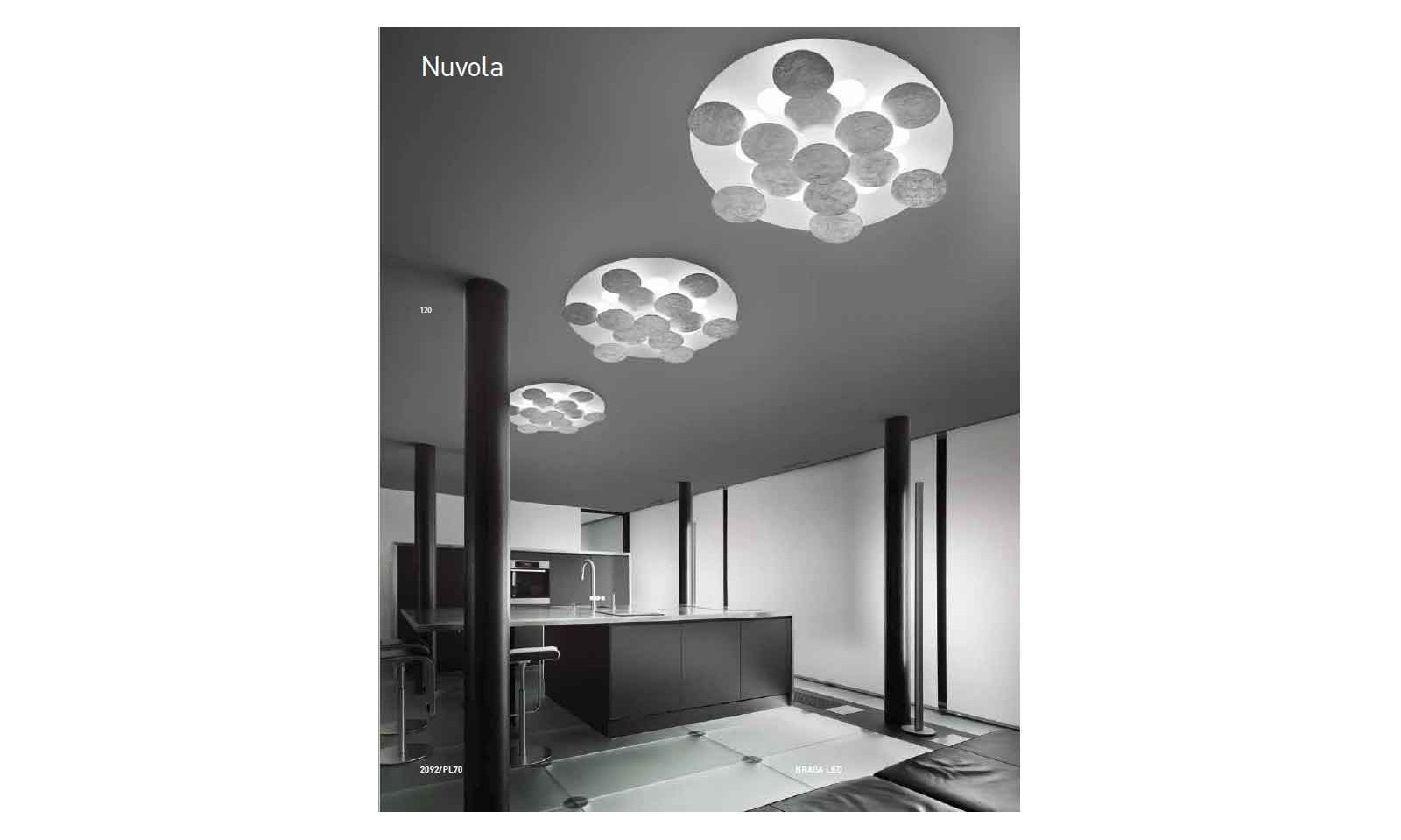 Plafoniera nuvola plafoniera con luce notturna lampade applique