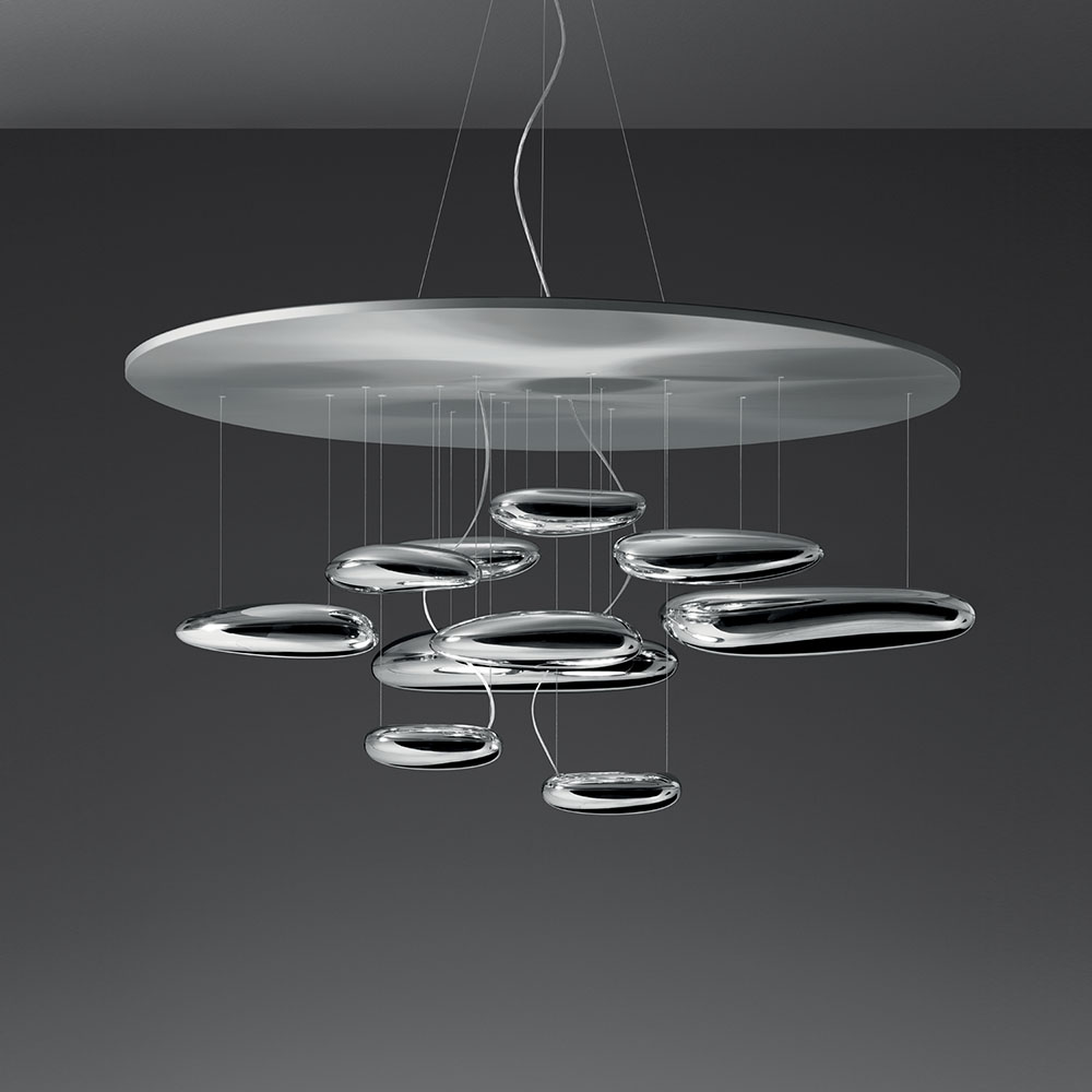 Artemide Suspension Mercury Suspension Inspiration Materials And Technologies