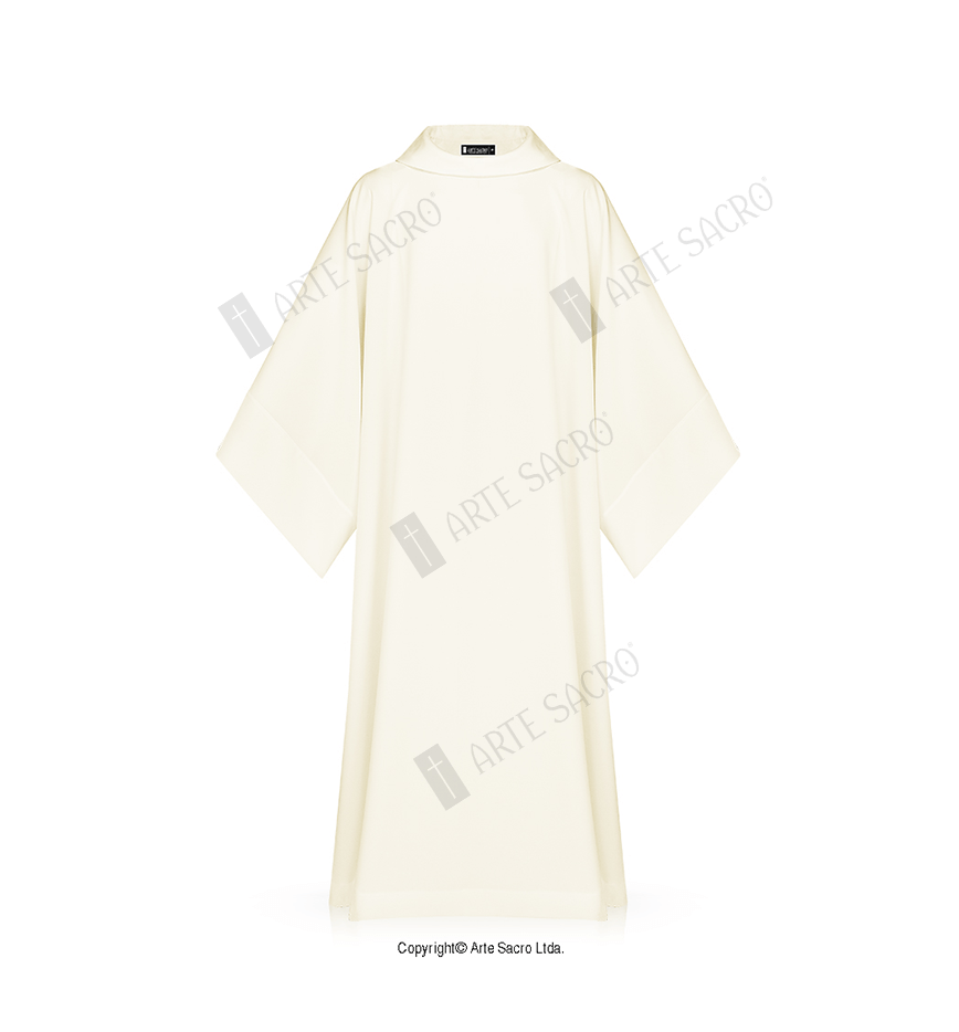 Arte Sacro Tunicas Monastic Alb Arte Sacro Liturgical Vestments And Metals