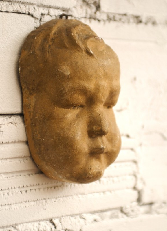 Bathroom Decor Pinterest Antique Plaster, Statue, Ancient Wall Decor, Home Decor